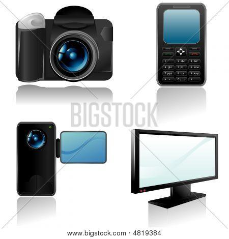 Eletrônicas ícones