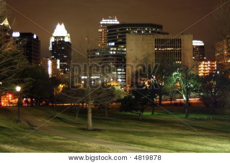City Of Austin At Night