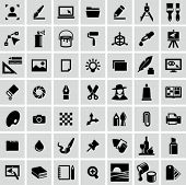 stock photo of stroking  - Graphic design icons - JPG