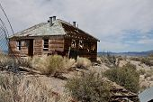 House near Mono Lake