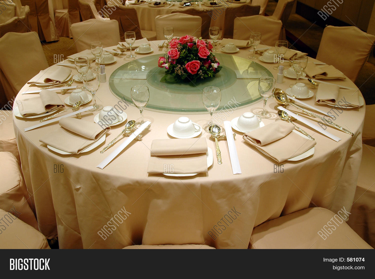 Exceptional Banquet Table Setting Part - 3: Wedding Banquet Table Setting
