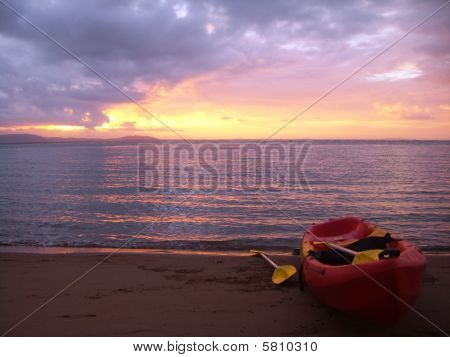 Sea Kayak in  Australia.
