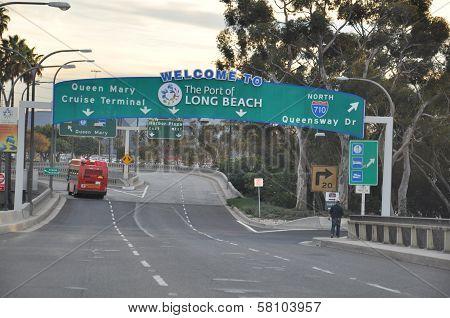 Long Beach in California