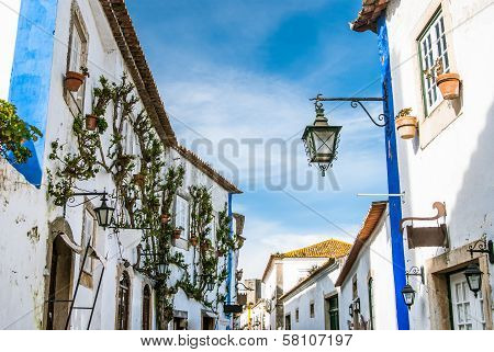 Obidos landmark, old medieval city