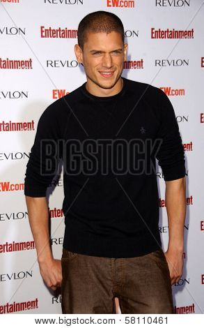 Wentworth Miller  at Entertainment Weekly's 5th Annual Pre-Emmy Party. Opera and Crimson, Hollywood, CA. 09-15-07