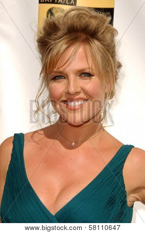 Ashley Jensen at the 5th Annual BAFTA-LA Tea Party honoring Emmy Nominees. Wattles Mansion, Los Angeles, CA. 09-15-07