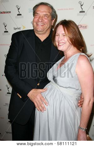 Dick Wolf and Noelle Lippman at the 59th Annual Emmy Awards Nominee Reception. Pacific Design Center, Los Angeles, CA. 09-14-07