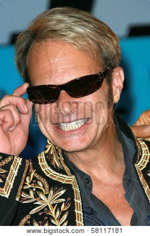 David Lee Roth at the Van Halen Reunion Tour Press Conference. Four Seasons Hotel, Los Angeles, CA. 08-13-07