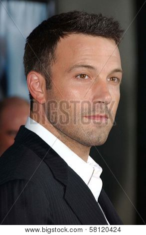 Ben Affleck at the world premiere of