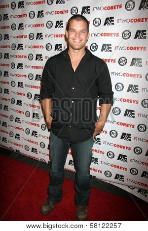Burke Bryant at the A and E Premiere of