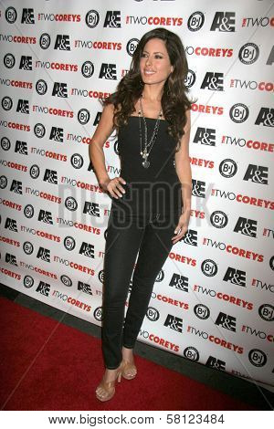 Kerri Kasem at the A and E Premiere of