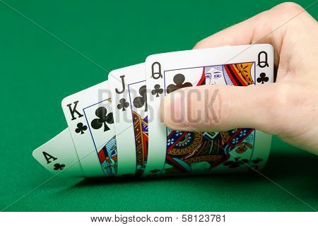 Cards In A Player's Hand