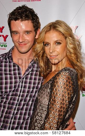 Michael Urie and Laura Sargent at the