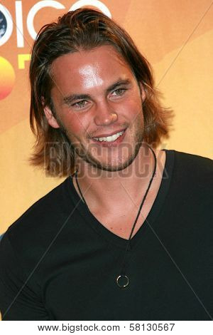Taylor Kitsch in the press room of the 2007 Teen Choice Awards. Gibson Amphitheater, Universal City, CA. 08-26-07