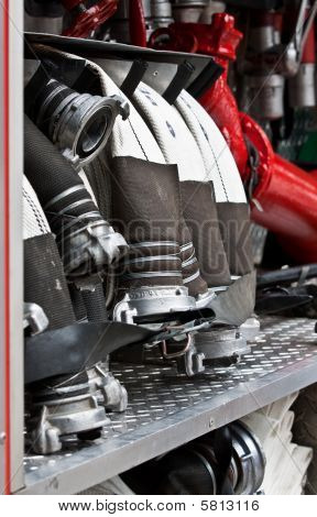 Hoses Of Fire Truck