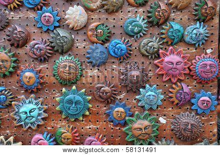 Handicrafts in Old Town, San Diego