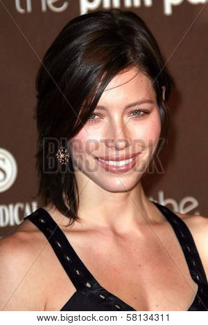 Jessica Biel at the 3rd Annual Pink Party benefiting Cedars-Sinai Women's Cancer Research Institute. Viceroy Hotel, Santa Monica, CA. 09-08-07