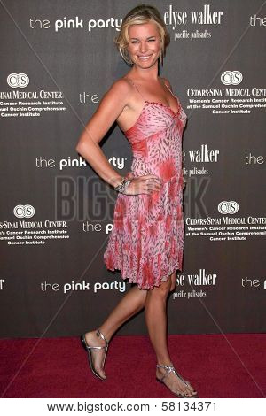 Rebecca Romijn at the 3rd Annual Pink Party benefiting Cedars-Sinai Women's Cancer Research Institute. Viceroy Hotel, Santa Monica, CA. 09-08-07