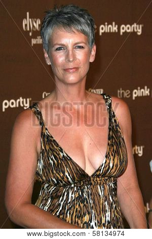 Jamie Lee Curtis at the 3rd Annual Pink Party benefiting Cedars-Sinai Women's Cancer Research Institute. Viceroy Hotel, Santa Monica, CA. 09-08-07
