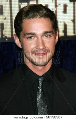 Shia LaBeouf arriving at the 2007 MTV Video Music Awards. The Palms Hotel And Casino, Las Vegas, NV. 09-09-07