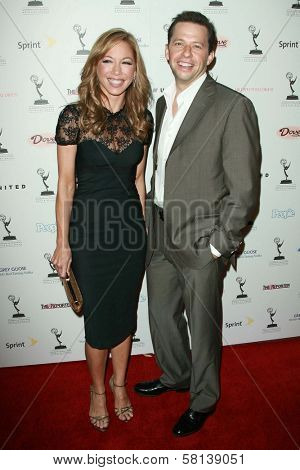 Lisa Joyner and Jon Cryer at the 59th Annual Emmy Awards Nominee Reception. Pacific Design Center, Los Angeles, CA. 09-14-07