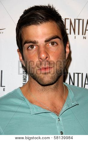 Zachary Quinto at Los Angeles Confidential Magazine's Annual Emmy Party.  One Sunset, West Hollywood, CA. 09-11-07