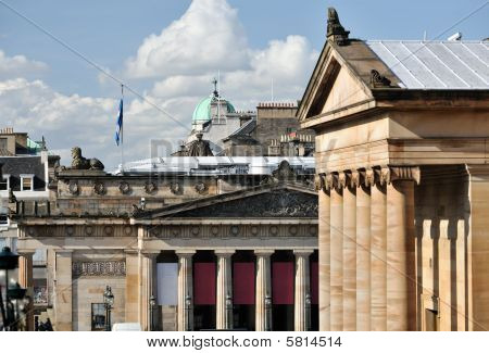 Royal Scottish Academy, National Gallery Of Scotland, Edinburgh, Scotland, Uk