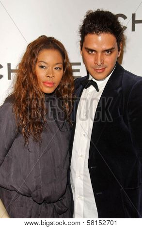 Golden Brooks and Markus Molinari at the Chanel and P.S. Arts Party. Chanel Beverly Hills Boutique, Beverly Hills, CA. 09-20-07