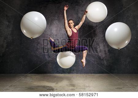 Fashionable modern dance
