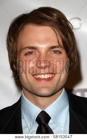Seth Gabel at the Screening Party for
