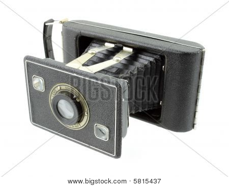 Antique 620 format film folding camera