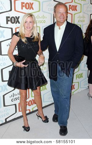 Camille Grammer and Kelsey Grammer at the FOX Fall Eco Casino Party. Area Nightclub, Los Angeles, CA. 09-24-07
