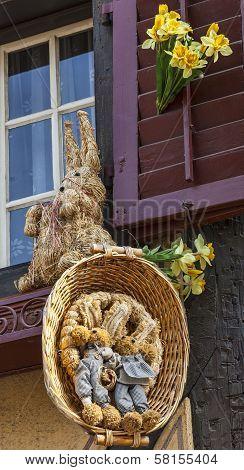 Alsatian Easter Decoration