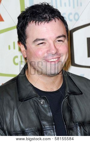 Seth MacFarlane at the FOX Fall Eco Casino Party. Area Nightclub, Los Angeles, CA. 09-24-07