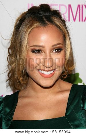 Adrienne Bailon at the Intermix Boutique Opening. Intermix, Los Angeles, CA. 09-25-07