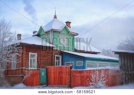 Residential izba in the north