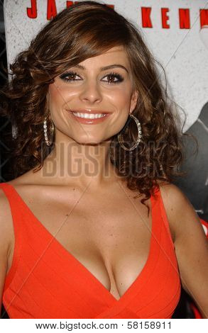 Maria Menounos at the Los Angeles Party for