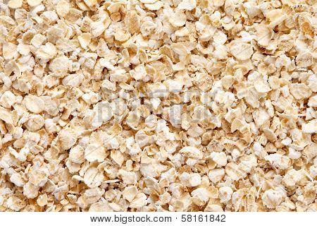Oatmeal (rolled Oats) Background
