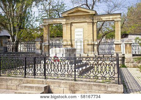 Grave Of Artist Ivan Aivazovsky. 1900 Year