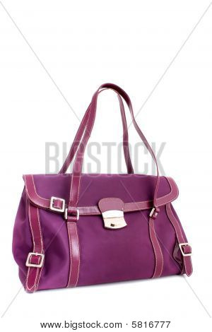 Designer Fuschia Purse