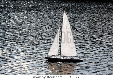 Sailer In River