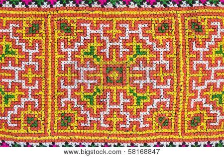 Seamless Colorful Fabric Patern