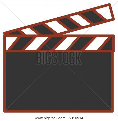Film Action Clapboard