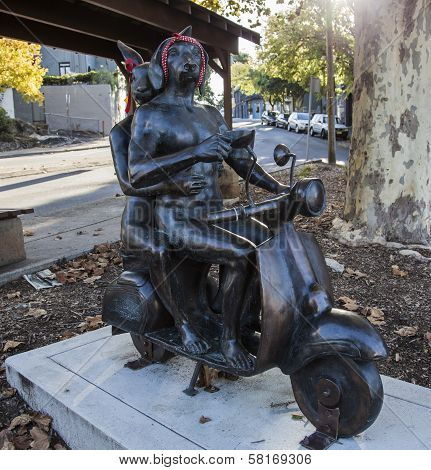 """Art Work Title:""""'it Takes Two"""" By Gillie And Marc Schattner, Paddington. Australia."""