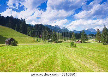 Val Di Fiemme Plateau
