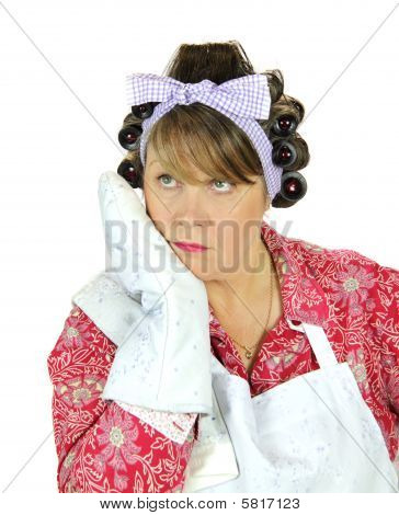 Dona de casa entediada terminalmente