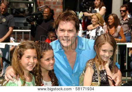 Ray Liotta and family at the Los Angeles Premiere of