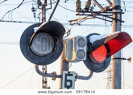 Railway Traffic Banning Traffic On Road Travel