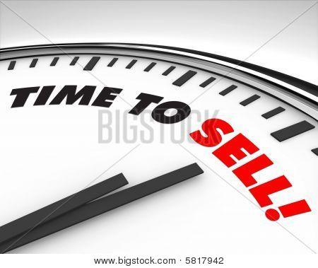 Hora de vender - relógio