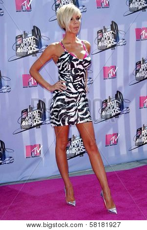 Victoria Beckham arriving at the 2007 MTV Movie Awards. Gibson Amphitheatre, Universal City, CA. 06-03-07